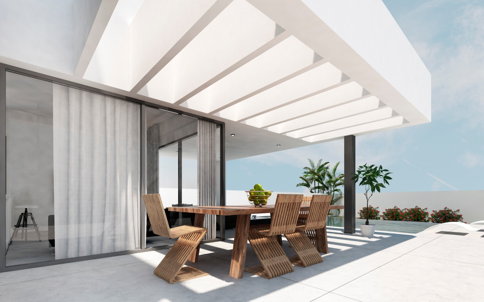 Extra outdoor space